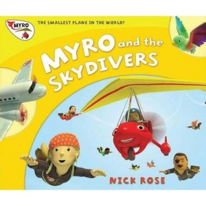 Myro and the Skydivers Book