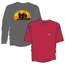 Groundrush Sunset Silhouettes Tshirt