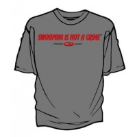 Opening Shock Swooping is not a crime Tshirt