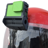 Zkulls Visor mount for Go Pro with frame